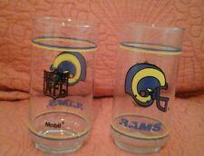 Vintage Los Angeles Rams promo glasses