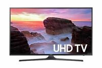 Samsung Electronics UN43MU6300 43-Inch 4K Ultra HD Smart LED TV with 120 CMR