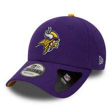 NEW ERA MINNESOTA VIKINGS BASEBALL CAP.9FORTY NFL LEAGUE PURPLE ADJUSTABLE HAT