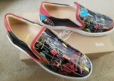 NIB-Christian Louboutin low top patent leather sneakers Size 41 US 10