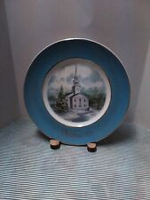 """Avon Christ 00006000 mas 1974 Collector's Plate """"Country Church"""""""