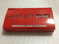 Nintendo Game Boy Pocket RED BOX.MGB-001 Game Console System from JP Free Ship