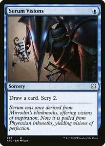 *MtG: Serum Vision - Commander: Adventures Forgotten Realms UC -magicman-europe*