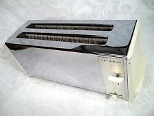 VINTAGE KNAPP MONARCH 4 SLICE ELECTRIC TOASTER CHROME WHITE     NO. 22-531