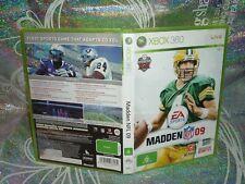 MADDEN NFL 09 (XBOX 360 GAME, G) (134696 K)