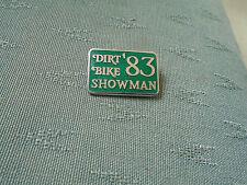 1983 Dirt bike showman-Moto bikers Enamel Pin Badge