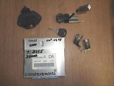Daewoo Lanos KLAT 1.5 Bj.97-04 16247149 Steuergerät Motor Zündschloss Schlüssel