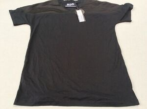 MEN'S BLOOD BROTHER ACE MESH PANEL TSHIRT/TOPBLACK  SIZE SMALL BNWT