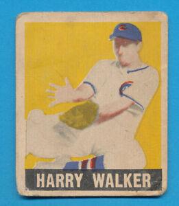 """SHORT PRINT HARRY """"HAT"""" WALKER 1948 LEAF #137 SP VINTAGE DECENT LOW GRADE *TPHLC"""