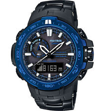 Casio Protrek Atomic Solar MB-6 Ana-Digi Smart-Acess BlackTitanium PRW6000SYT-1