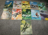 Vintage 1964 MODEL AIRPLANE NEWS Magazines Lot of 11 Almost Complete Year
