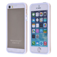 Fit for iPhone 5S! multi color Soft TPU Silicone Gel & Plastic Bumper Frame Case
