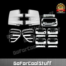 09-14 FORD F150 Chrome Mirror+4 Door+Tailgate W/Camera+Tail Light/Lamp Cover