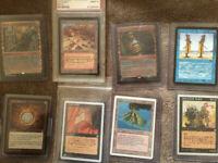 MTG Repack Alpha Card + arabian night, legends or antiquities card+booster magic