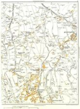 YORKS.Ovenden,Boothtown,Illingworth,Queensbury,Ambler Thorn 1935 old map
