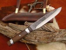 Wikinger messer mit Leder/Messing Scheide handgeschmiedet  1095 Stahl