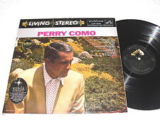 """Perry Como """"When You Come To The End of The Day"""" 1958 LP,VG+,Stereo,#LSP-1885,DG"""