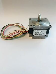 Nema 23 Stepper Motor, 60 oz-in, 24VDC, 1.0A, Unipolar, Portescap 23H018D10U