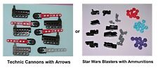 New Lego Technic NXT Mindstorm Shooting Cannon Arrow Weapons 7786 7888 Star Wars