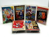 Commodore C64 Games Bundle / 6 Games all boxed and complete Tested and Working