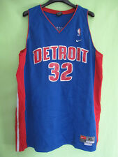 Maillot Basket Detroit Pistons Hamilton #32 NIKE Jersey NBA Vintage - XL