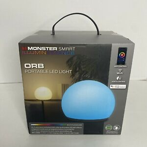 Monster ORB Multi-Color Portable Water-Resistant Smart  Wi-Fi LED Light / Lamp