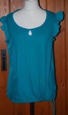Faded Glory, Ladies, Retro, Green, Casual, Top, Blouse,  size XXL (20)