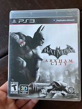 Batman: Arkham City (Sony PlayStation 3, 2011) Ps3 Complete Tested