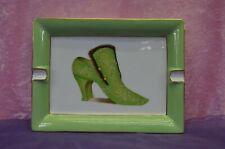 cendrier dans coffret neuf dessin chaussure ancienne