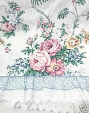 JCPenney Ansley Park / Waverly Belle Rive Floral 120x20 Ruffled Tailored Valance