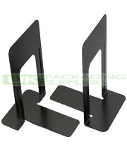 """2 Single / 1 Pair Of Heavy Duty Metal Bookends Book Ends 7"""" High Home Office"""