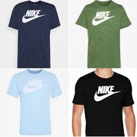 Nike T Shirt Mens Top Jersey Gym Football Sports Training Crew Neck 100% Cotton