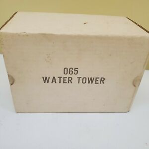 MARX Water Tower BLACK, Lightly Used IN Original Box. .99 NO RESERVE!