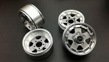 """RC  4pcs 1.9"""" Aluminum Beadlock wheels rim for 1/10 truck"""