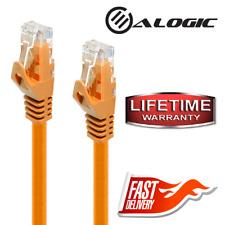 ALOGIC C6-0.5-Orange 1.6 ft Cat6 Network Cable