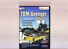 TBM AVENGER DELUXE. SUPERB EXPANSION FOR MICROSOFT FLIGHT SIMULATOR X ON PC. NEW