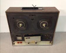 Vintage Sony TC-252D Reel To Reel Tape Deck For Parts Repair