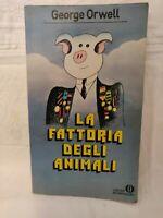 LIBRO LA FATTORIA DEGLI ANIMALI - GEORGE ORWELL - ED. 1982 OSCAR MONDADORI