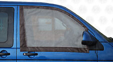 2 qualité cab window moustiquaires 4 vw T5/T6 campe avec aimants marron C9074