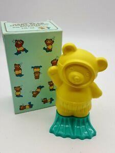 Vintage 1987 Avon Baby Bear Floating Shampoo Decanter No Tear 6oz. New in Box
