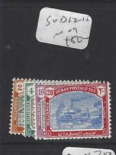 Isudan (P2909B) Country South Of Egypt Postage Due Sg D12-5 Mog