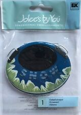 """Jolee's By You """"Snow Tube"""" Dimensional Sticker"""