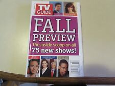 VINTAGE - TV GUIDE SEPT 11 2005 - FALL PREVIEW  - COVER