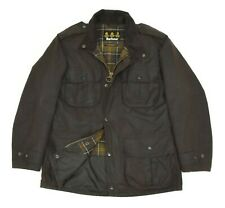 BARBOUR Men's A996 Trooper Jacket Wax Brown M65 Military Size M