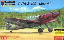 Avia S-199 Mezek (Checoslovaca af MKGS) 1/72 KP/Kovozavody Prostejov Premium Set