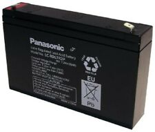 BATTERY REPLACEMENT LCR6V6.5BP,LCR6V7.2P,PE-6V7.2,. 6V 7.2 Ah. F1 .187 EACH