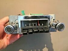 1972 Ford Pinto AM Radio has Knobs Original Used part # D22A-18806
