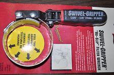 "Lisle 57020 Swivel Gripper - No Slip Filter Oil Wrench Small :R  2.875""- 3.25""US"