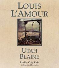Utah Blaine by Louis L'Amour (2014, CD, Unabridged)