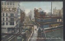 Postcard MILWAUKEE Wisconsin/WI  Browning & Kino Mens' Store Building view 1907